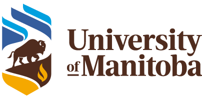 university, manitoba, logo, new